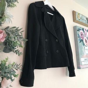 Theory 🍁 double breasted blazer jacket